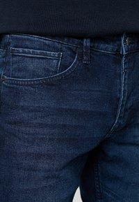 TOM TAILOR DENIM - PIERS PRICESTARTER - Jeans Slim Fit - used dark stone/blue denim - 3