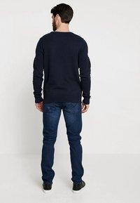 TOM TAILOR DENIM - PIERS PRICESTARTER - Jeans Slim Fit - used dark stone/blue denim - 2
