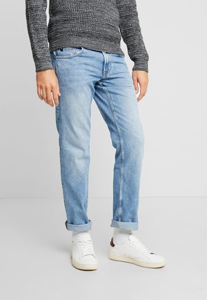 VINTAGE  - Džíny Straight Fit - used light stone blue denim