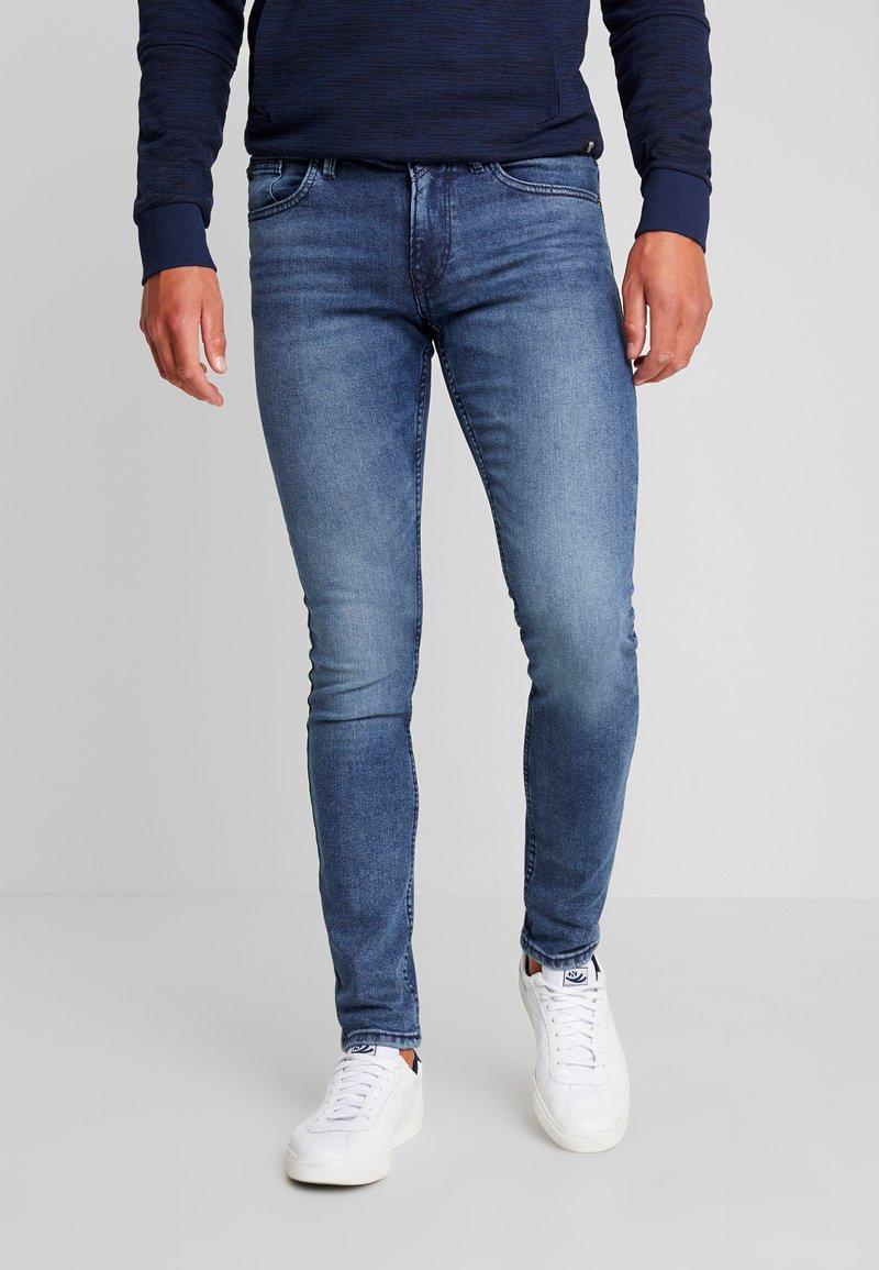 TOM TAILOR DENIM - CULVER PRICE STARTER - Jeans Skinny Fit - mid stone wash denim