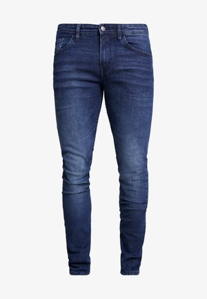 CULVER STRETCH - Jeans Skinny - used dark stone blue denim