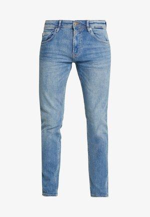 SLIM PIERS - Jean slim - bright blue denim