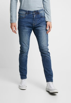 CONROY PRICESTARTER - Jeans Slim Fit - used mid stone blue denim