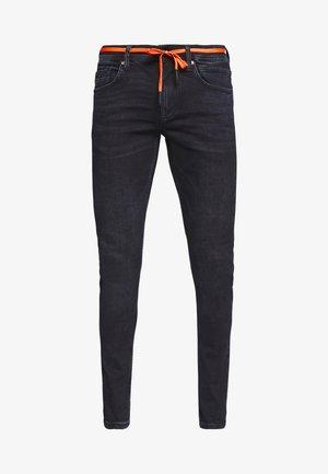 CULVER PERFORMANCE - Jeans Skinny Fit - blue black denim