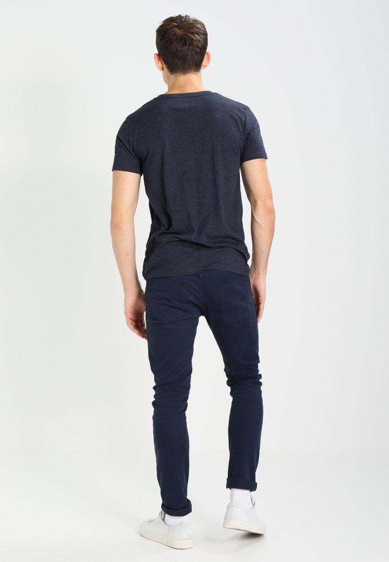 T Blue shirt Tom ImpriméNight Tailor Denim Sky Rj5L3A4