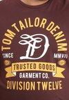 TOM TAILOR DENIM - T-shirt à manches longues - decadent bordeaux