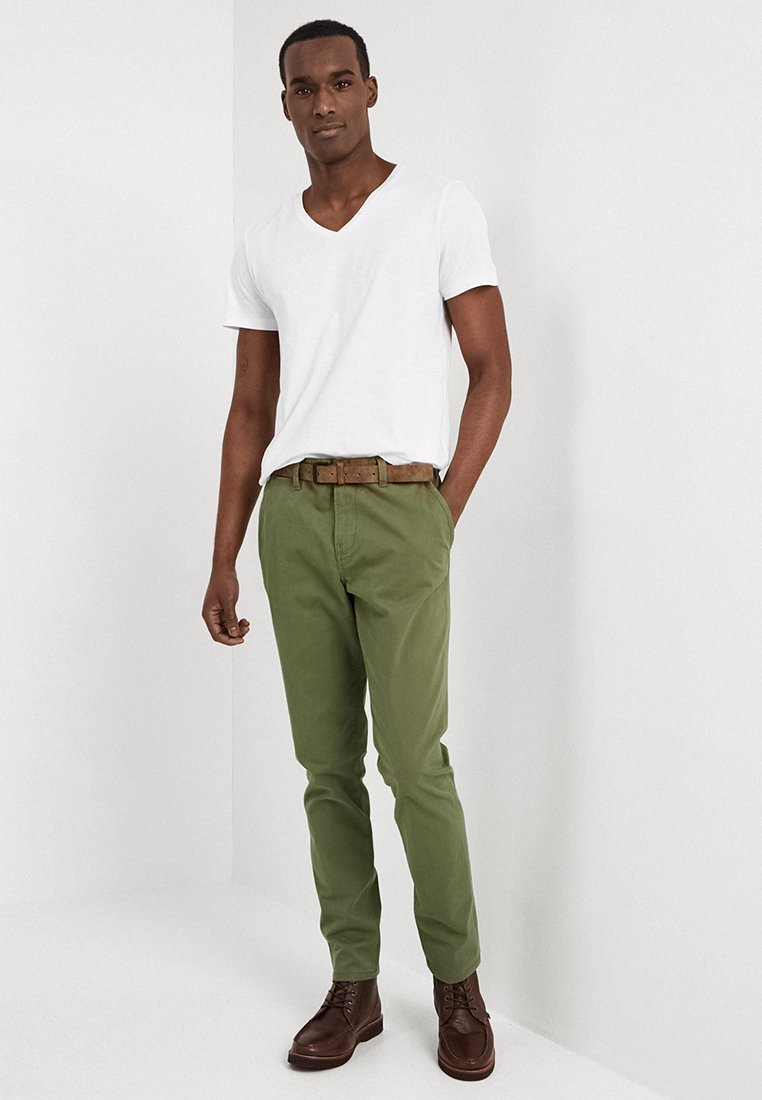 TOM TAILOR DENIM - 2 PACK - T-Shirt basic - white