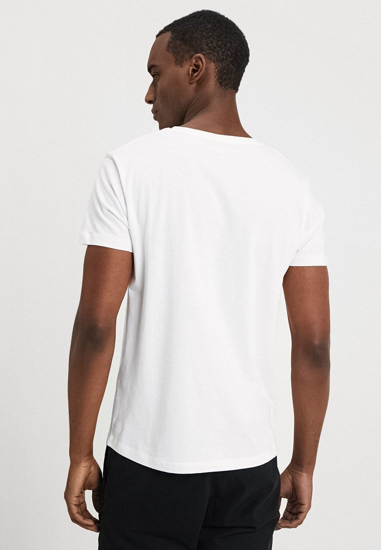 Tom T Tailor ImpriméWhite Denim shirt nNOvm80w
