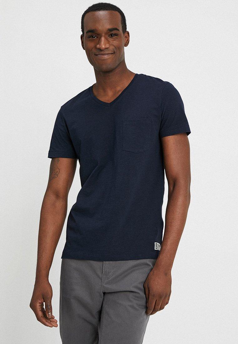 Blue Tailor Denim Tom Captain BasiqueSky T shirt 3L54jAR