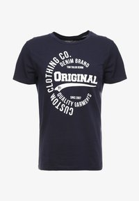 TOM TAILOR DENIM - T-Shirt print - sky captain blue - 3