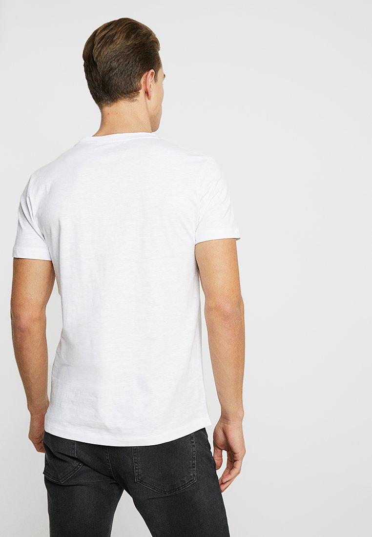 TOM TAILOR DENIM T-shirt imprimé - white white