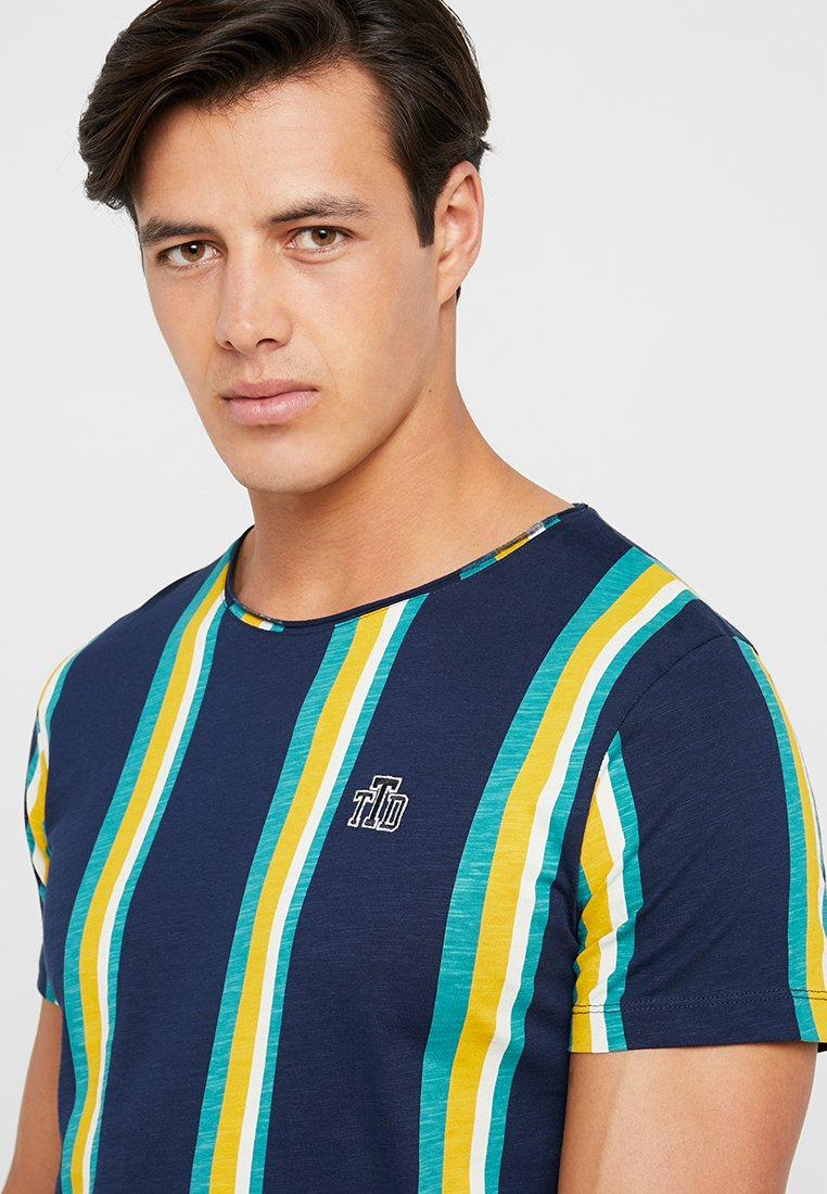 Denim shirt Con Stampa Tom Multicolor Tailor StripedT TlF3u15KJc