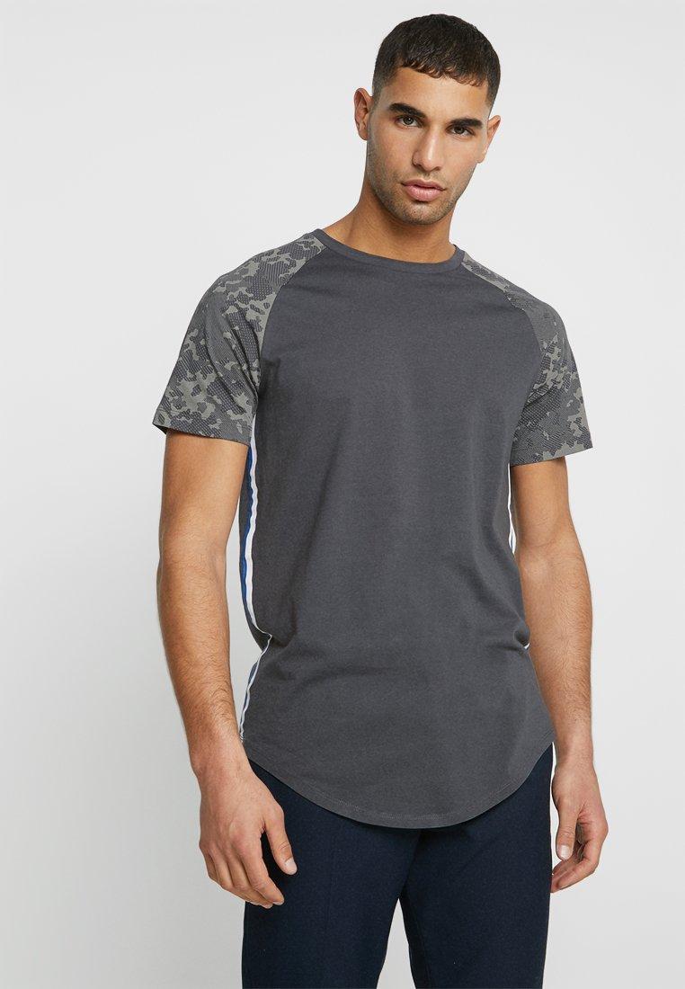 TOM TAILOR DENIM - T-Shirt print - tarmac grey