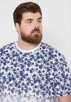 TOM TAILOR DENIM - FADEOUT - T-Shirt print - white