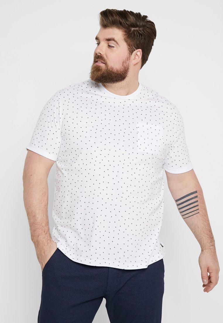 TOM TAILOR DENIM - T-Shirt print - white