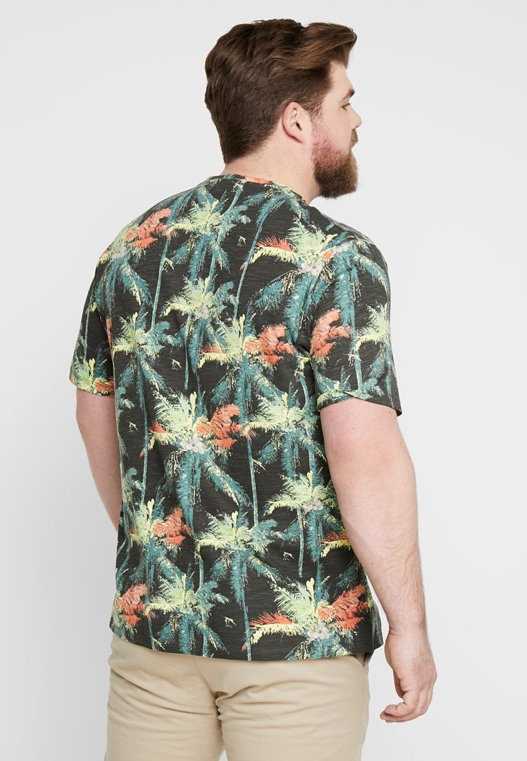 Denim grey New Tailor Imprimé Tom Multicolor PlacementT shirt OXZiPkuT