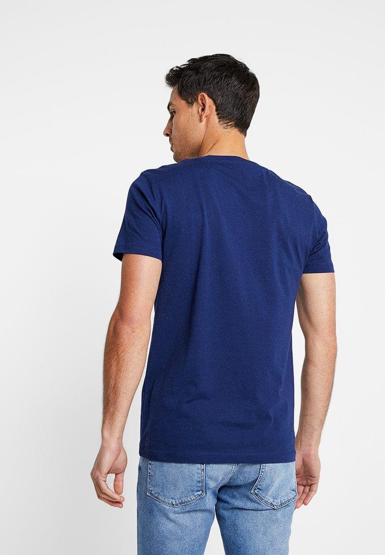 Tom Blue shirt Tailor T ImpriméCosmos Denim v8wymNPn0O