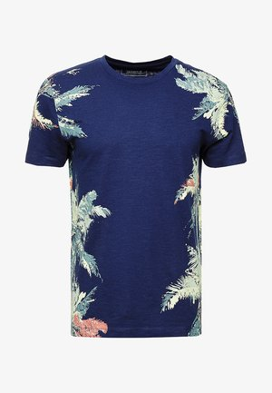 NEW PLACEMENT - T-shirts med print - cosmos blue