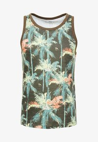 TOM TAILOR DENIM - Toppe - multicolor tropical palm grey - 3