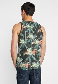 TOM TAILOR DENIM - Toppe - multicolor tropical palm grey - 2