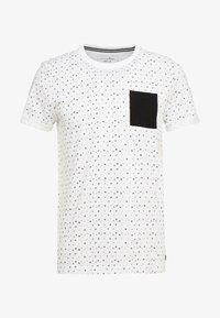 TOM TAILOR DENIM - ALLOVER - T-shirt print - white - 3