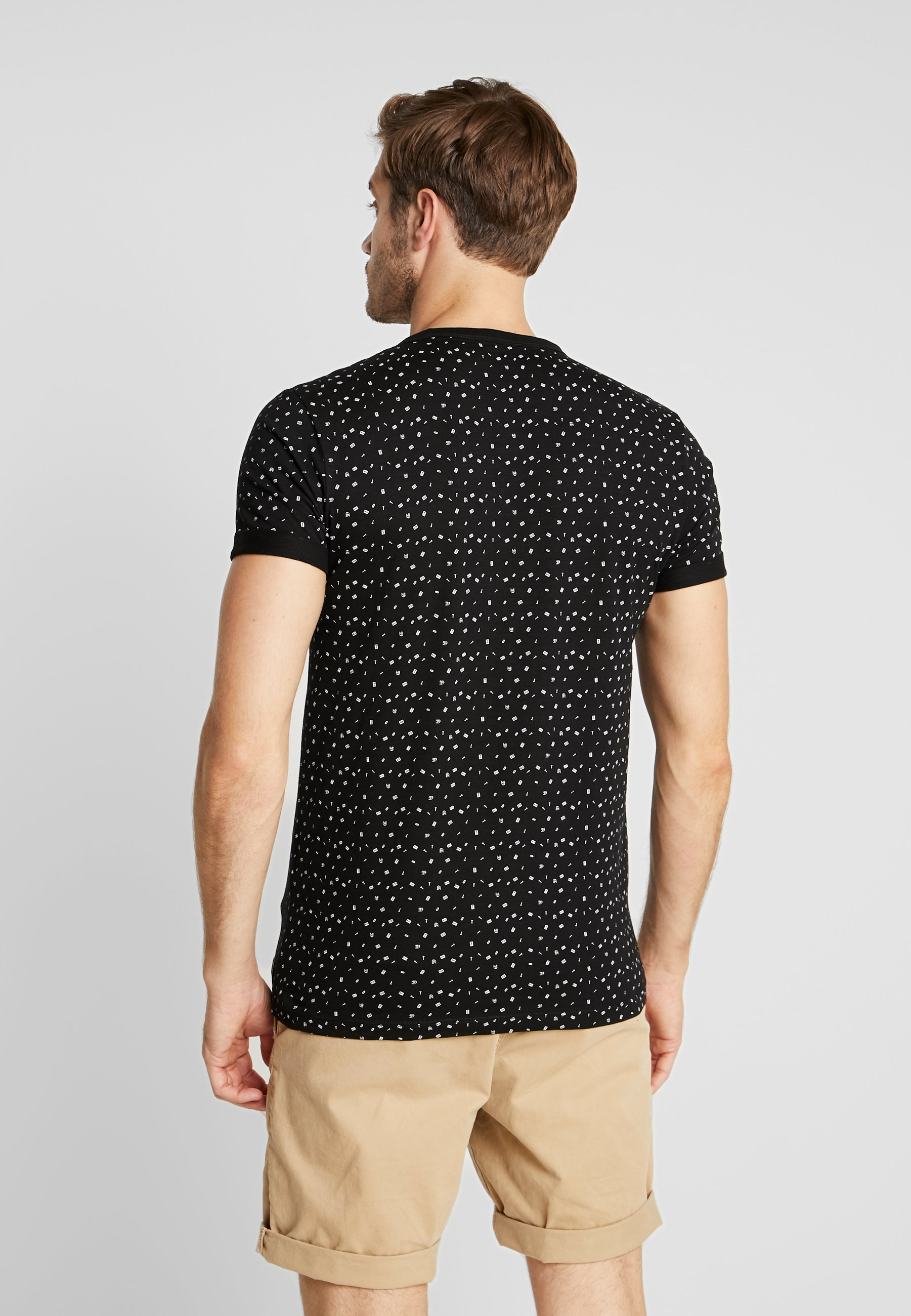 Tom Black Imprimé AlloverT Denim Tailor shirt 8nwv0NOm