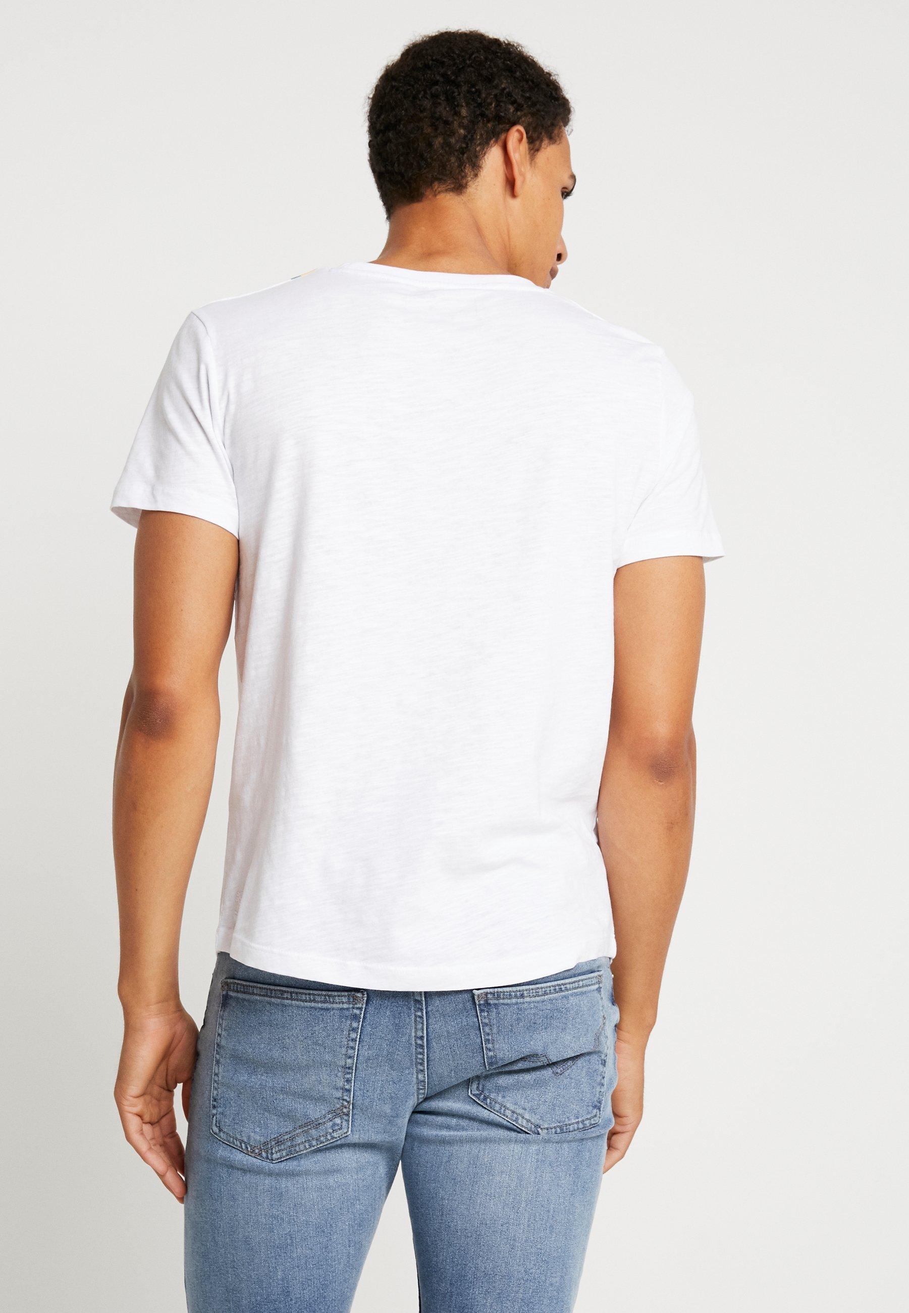 Tom Tailor T Denim shirt ImpriméWhite 0On8Pwk