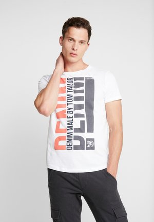 W. TURNUP - T-shirt print - white