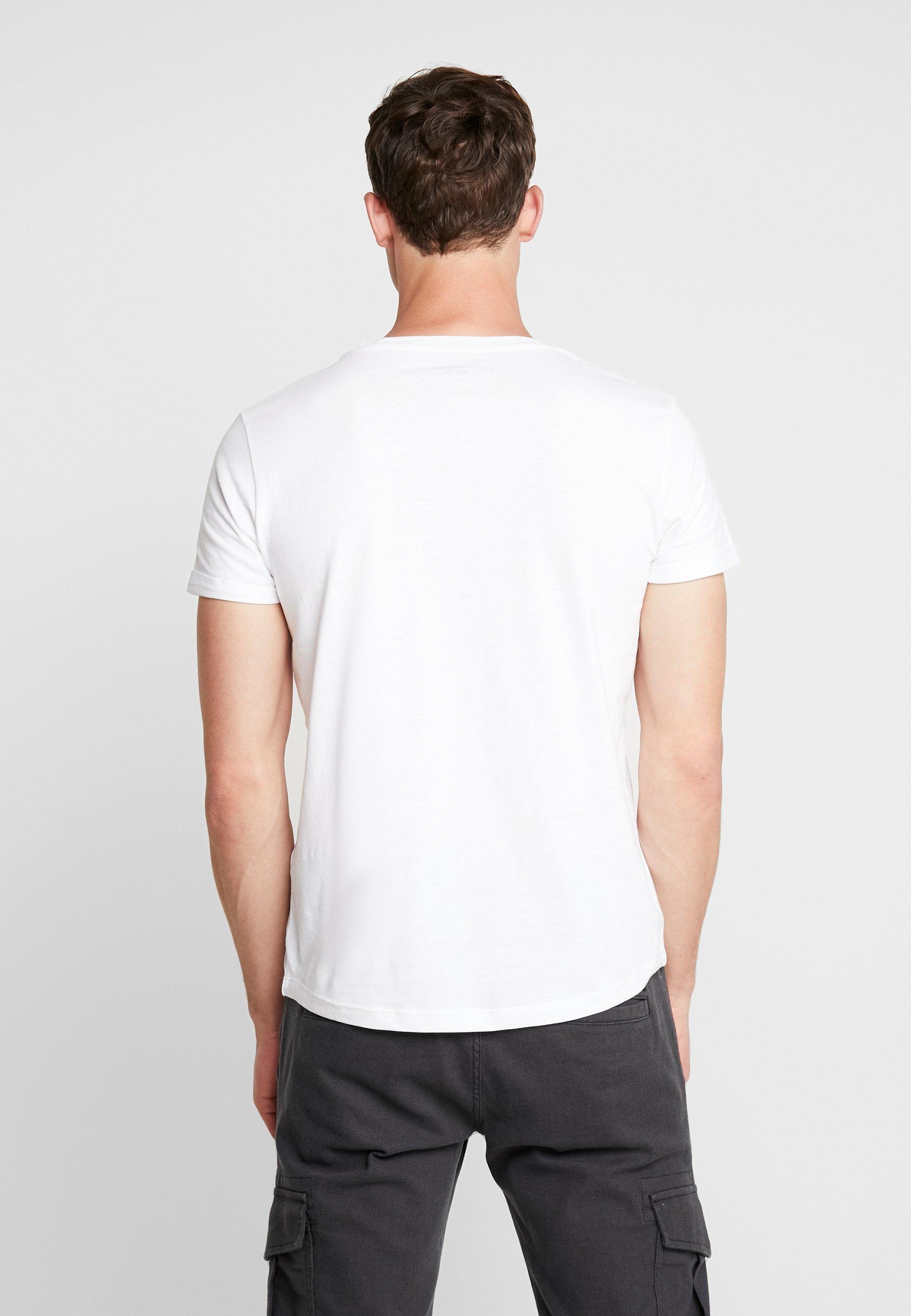 Denim Imprimé Tom White Tailor TurnupT shirt FJTclK1