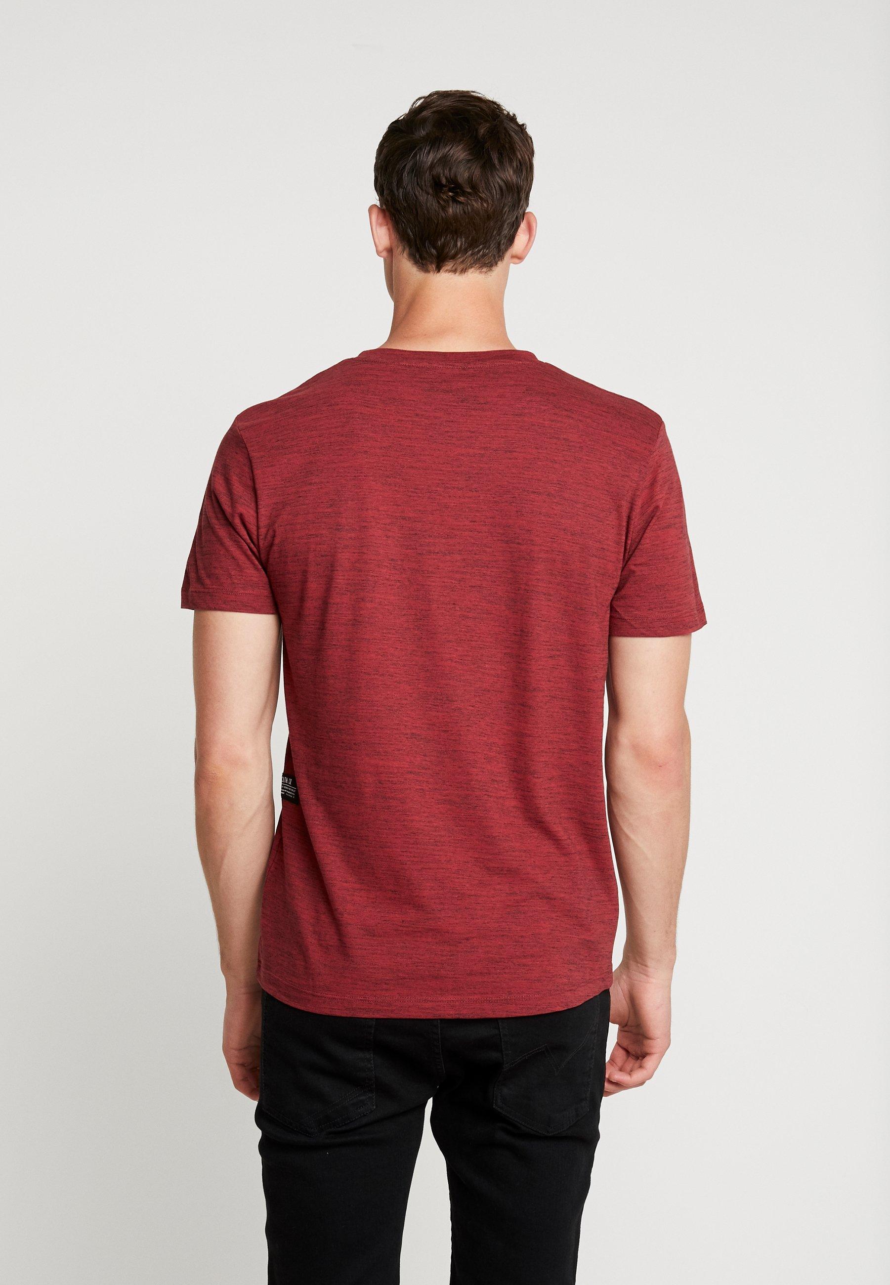 Tom shirt Tailor Red Denim Pipe Basique NosT hrxtCsQd