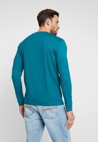 TOM TAILOR DENIM - Long sleeved top - deep jade green - 2