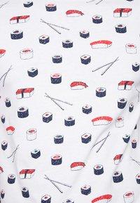 TOM TAILOR DENIM - T-shirt imprimé - white - 5