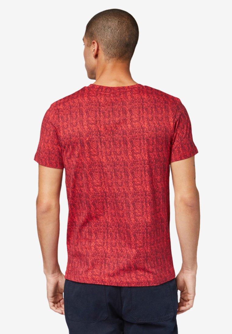 T shirt Tailor ImpriméRed Tom Denim PTOkiXZu