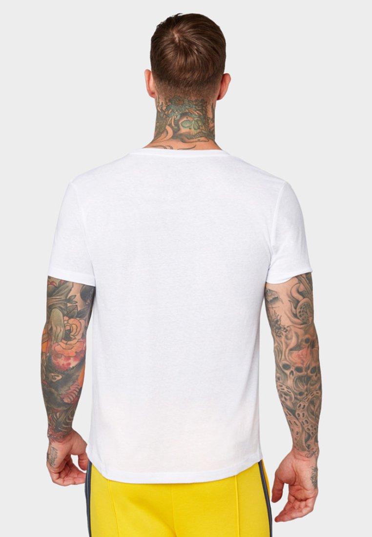 Denim ImpriméWhite Tom T shirt Tailor eWEYH2I9D