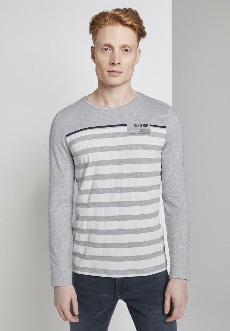 TOM TAILOR DENIM - longsleeve - Langarmshirt - white