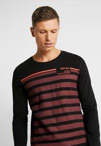 TOM TAILOR DENIM - longsleeve - Langærmede T-shirts - tawny port red - 4