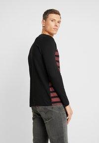 TOM TAILOR DENIM - longsleeve - Langærmede T-shirts - tawny port red - 2