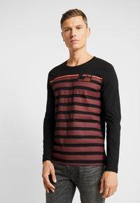 TOM TAILOR DENIM - longsleeve - Langærmede T-shirts - tawny port red - 0