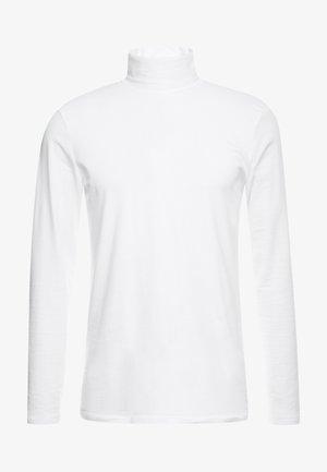 LONGSLEEVE TURTLENECK  - Top sdlouhým rukávem - white