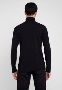 TOM TAILOR DENIM - LONGSLEEVE TURTLENECK  - Langarmshirt - black - 2