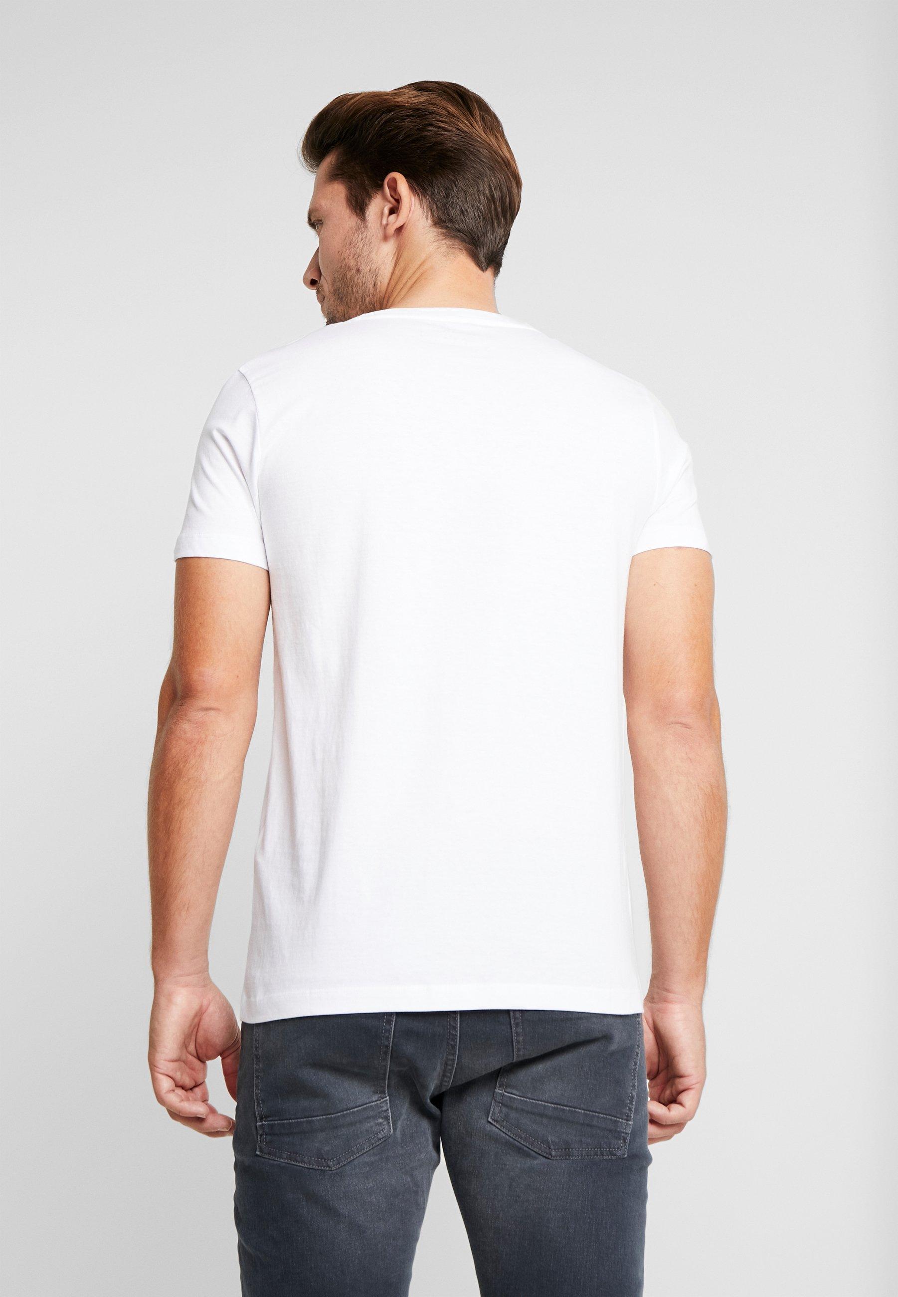 TOM TAILOR DENIM T-shirt z nadrukiem - white