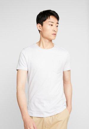 IN NEW STRUCTURE - Basic T-shirt - white melange