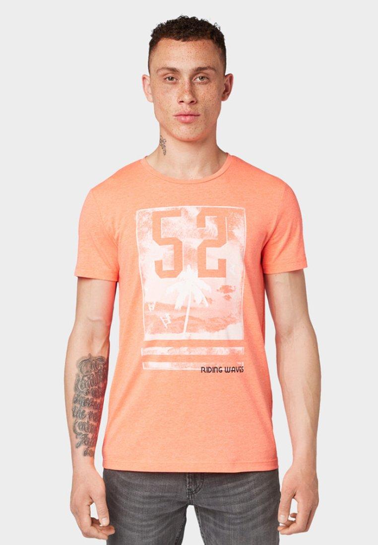 Tailor Tom ImpriméNeon shirt Peach T Denim XkNOnw80P