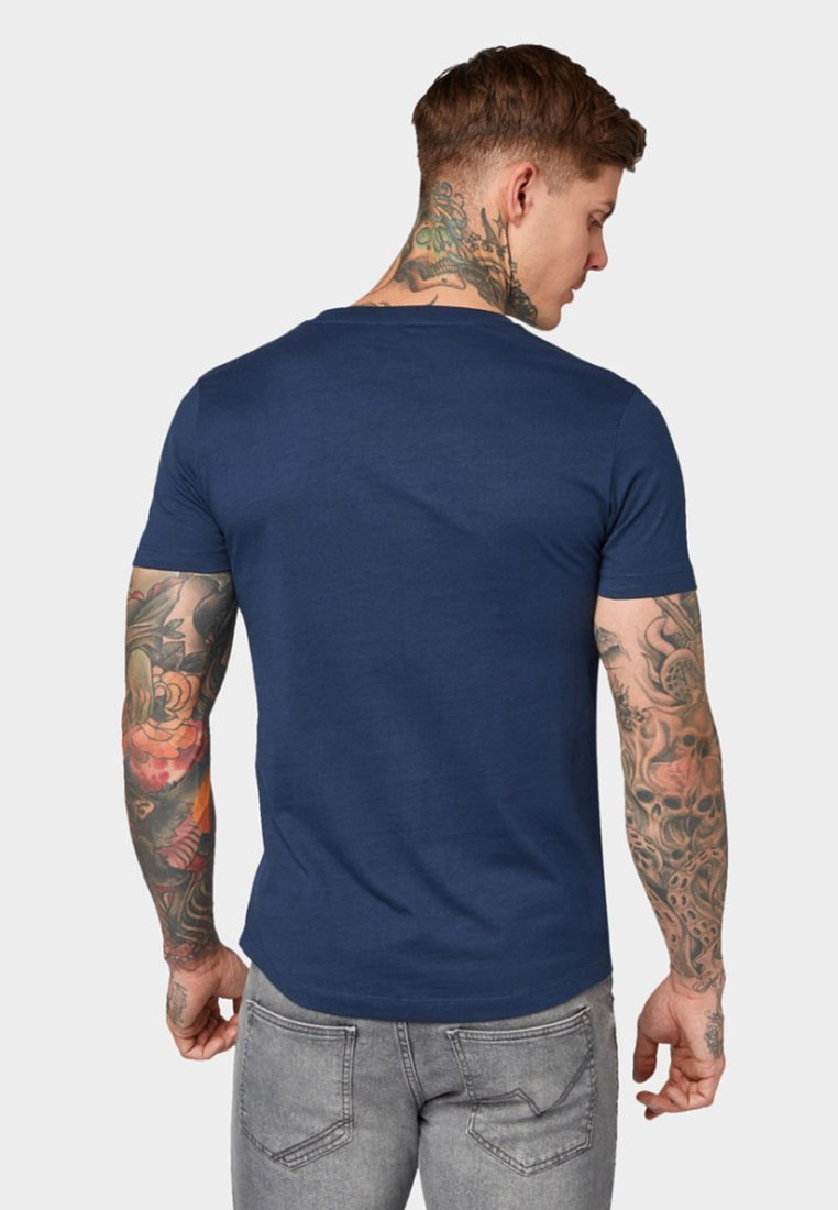 Tailor Stone Agate Denim PrintT Imprimé Tom Blue Mit shirt VUMpSqz