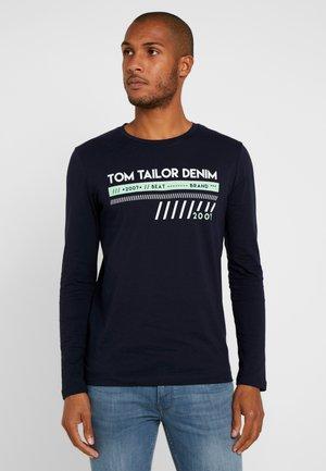 LONGSLEEVE  - Long sleeved top - sky captain blue