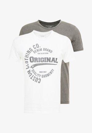 2 PACK - T-shirts print - white