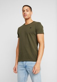 TOM TAILOR DENIM - PACKAGING 3 PACK - Basic T-shirt - sky captain blue - 1
