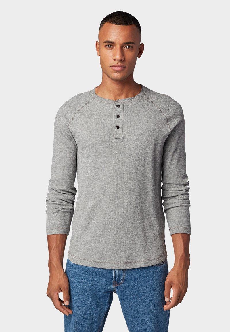 TOM TAILOR DENIM - LONG SLEEVE SHIRT - T-shirt à manches longues - gray