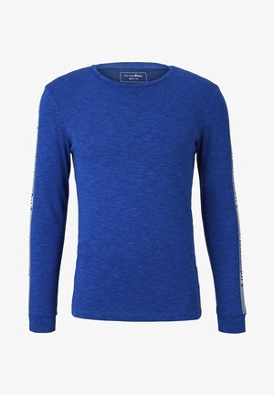 Long sleeved top - bright king blue