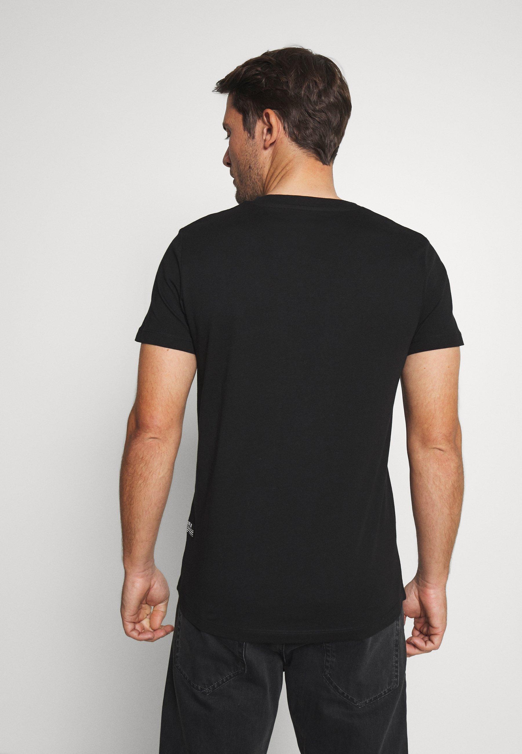 TOM TAILOR DENIM WITH FOTOPRINT - T-shirt z nadrukiem - black